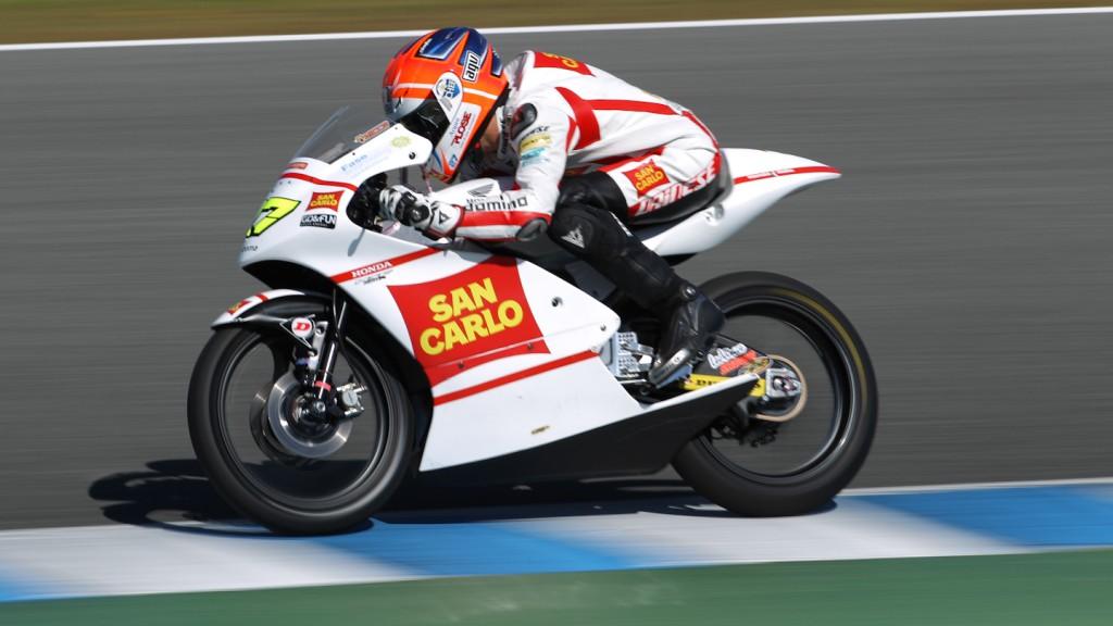 Niccolo Antonelli, San Carlo Honda Gresini Moto3, Jerez Test
