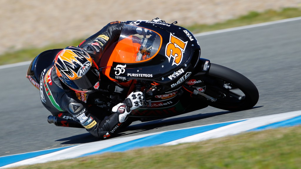 Niklas Ajo, TT Motion Events Racing, Jerez Test
