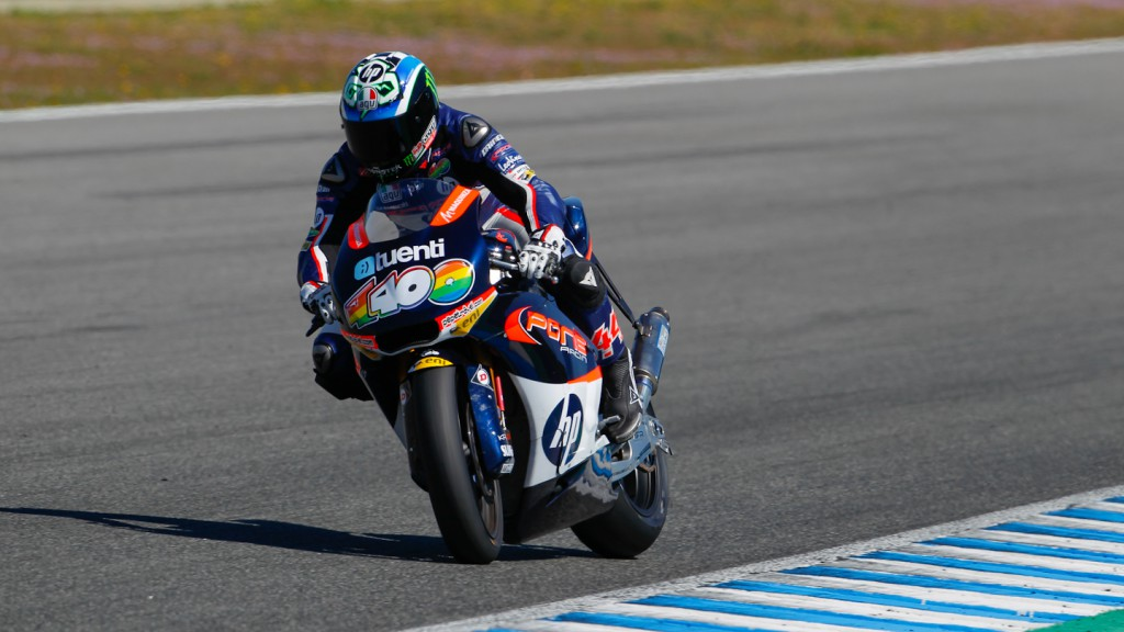 Pol Espargaro, Pons 40 HP Tuenti, Jerez Test