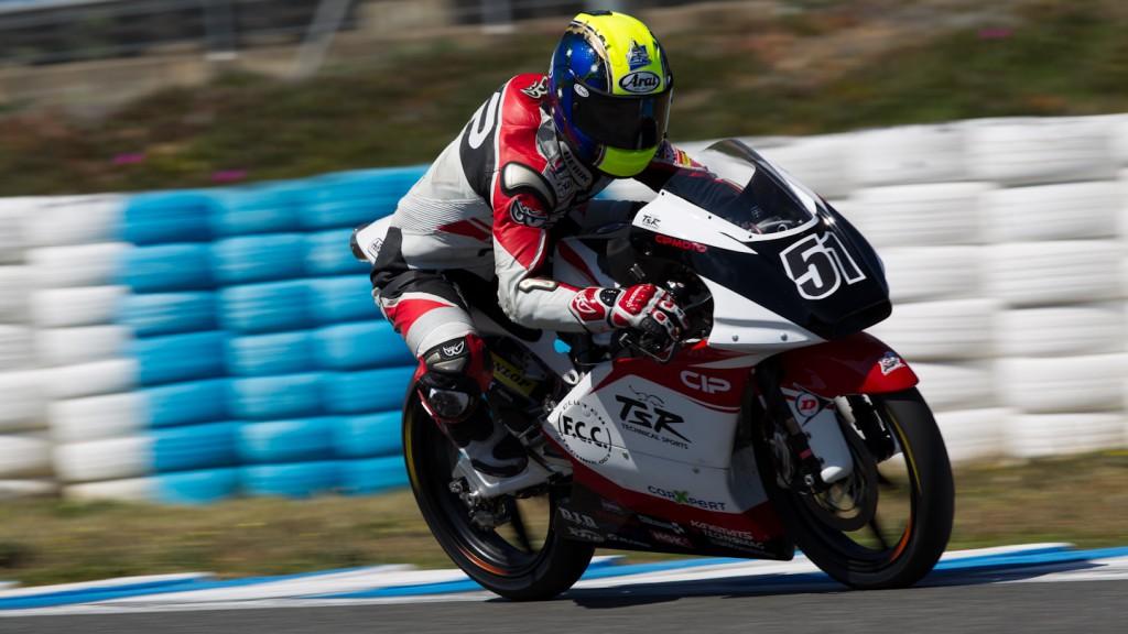 Kenta Fuji, Technomag-CIP-TSR, Jerez Test