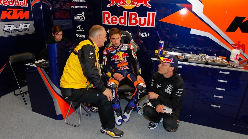 Danny Kent, Red Bull KTM Ajo, Jerez Test