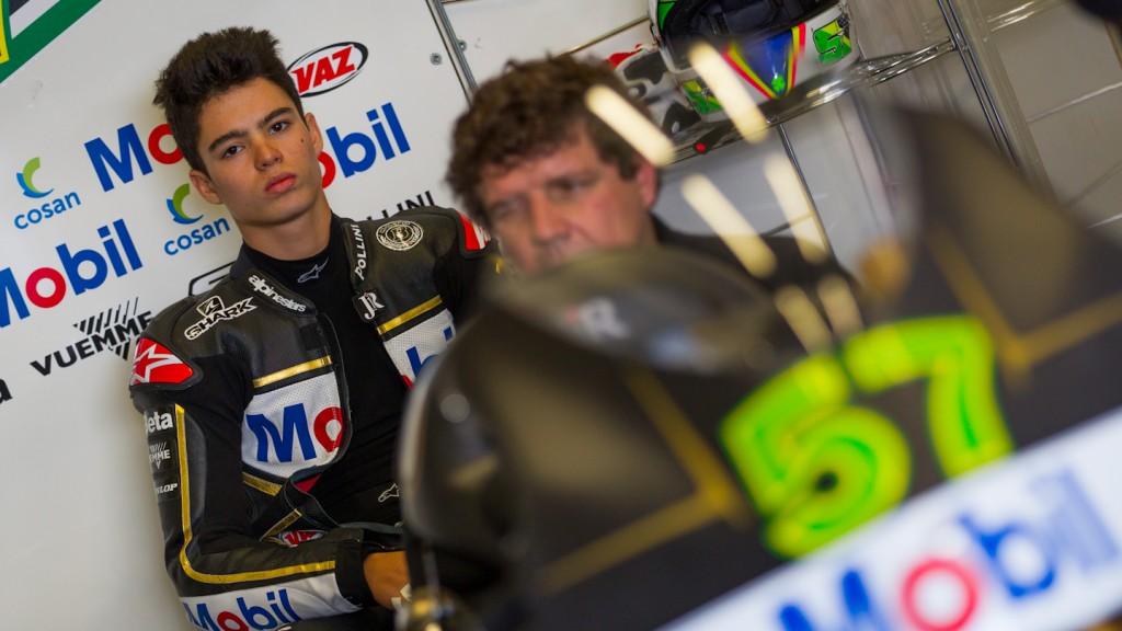 Eric Granado, JIR Moto2, Jerez Test