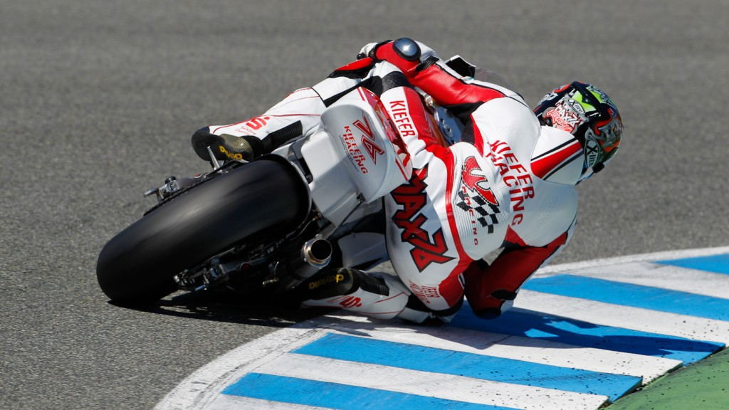 Max Neukirchner, Kiefer Racing, Jerez Test