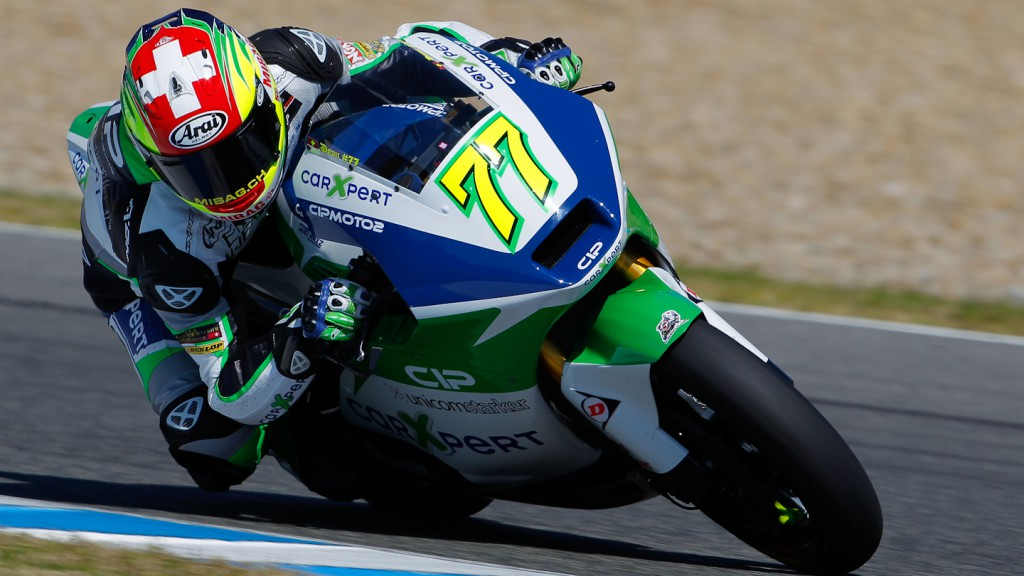 Dominique Aegerter, Technomag-CIP, Jerez Test