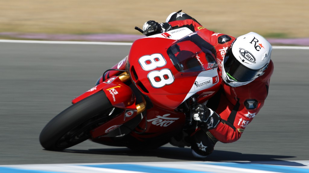 Ricard Cardus, Arguiñano Racing Team, Jerez Test