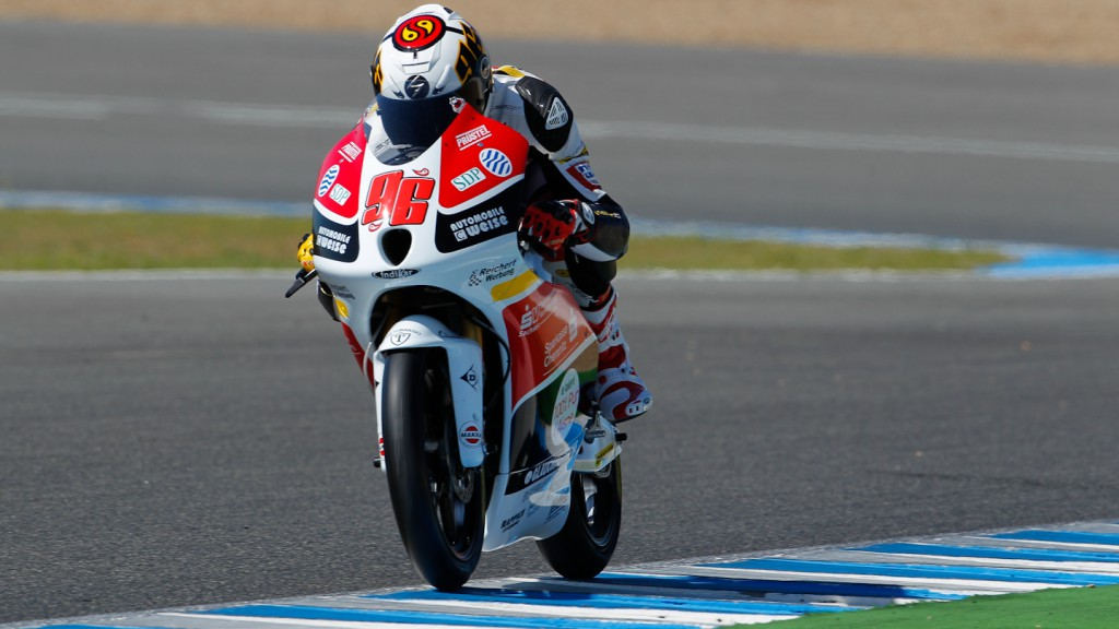 Louis Rossi, Racing Team Germany, Jerez Test