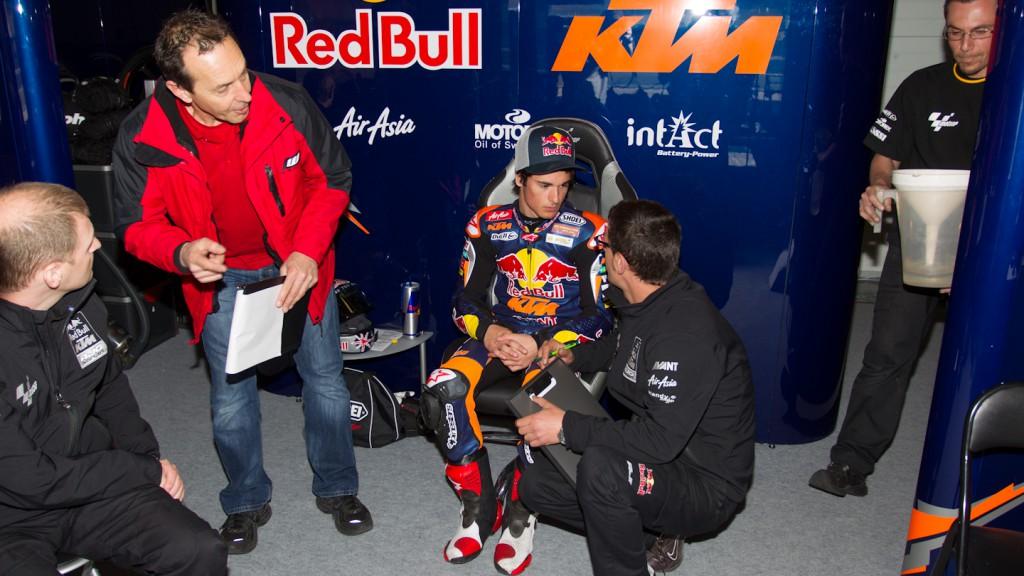 Arthur Sissis, Red Bull KTM Ajo, Jerez Test