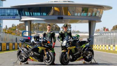 Dovizioso, Crutchlow, Monster Yamaha Tech 3, Jerez