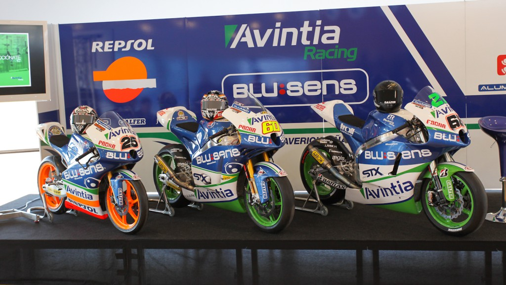 Avintia Racing presentation, Jerez Test