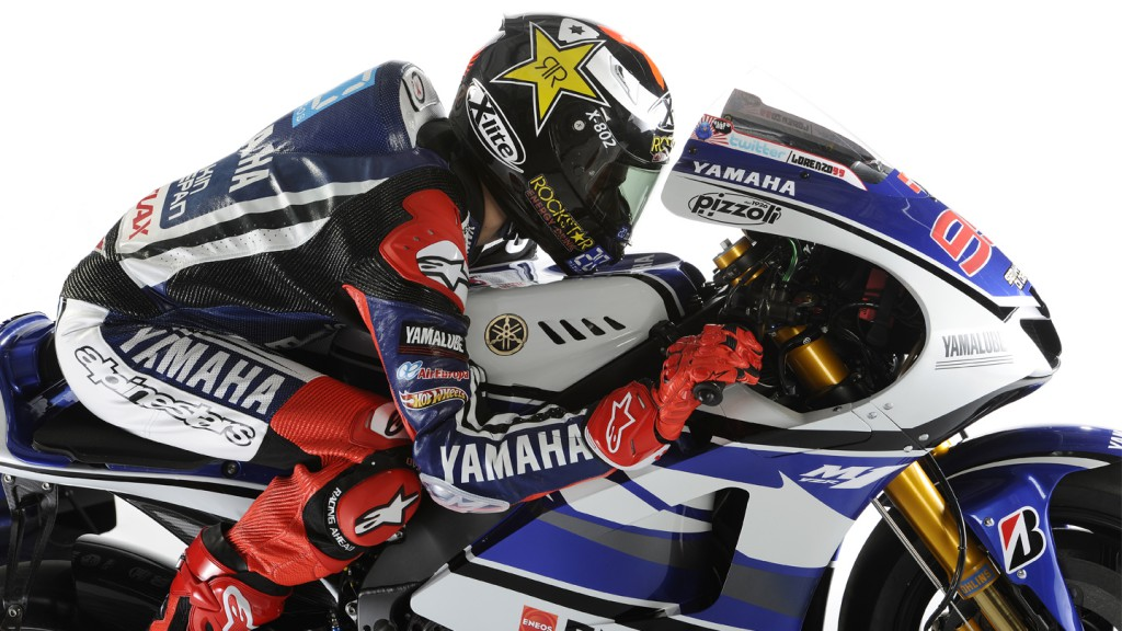 2012 Yamaha YZR-M1 Official Presentation, Jorge Lorenzo