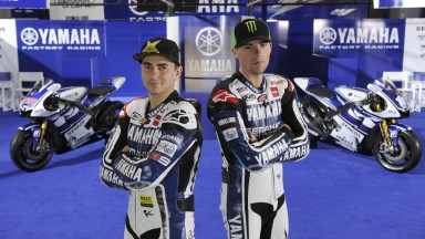 2012 Yamaha YZR-M1 Official Presentation, Jorge Lorenzo, Ben Spies