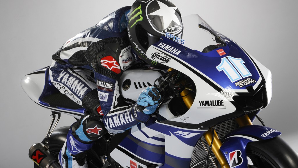 2012 Yamaha YZR-M1 Official Presentation, Ben Spies