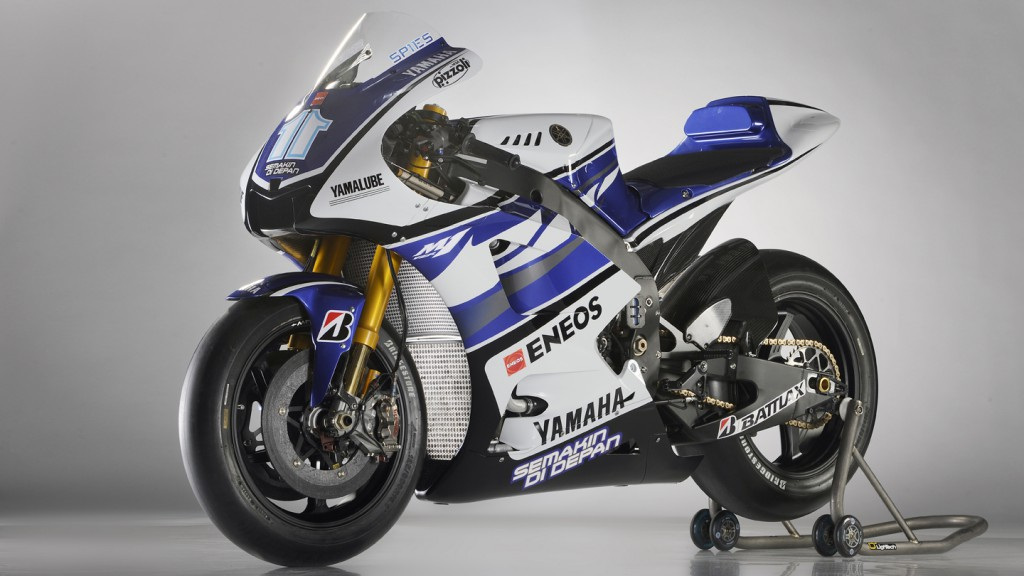 2012 Yamaha YZR-M1 Official Presentation