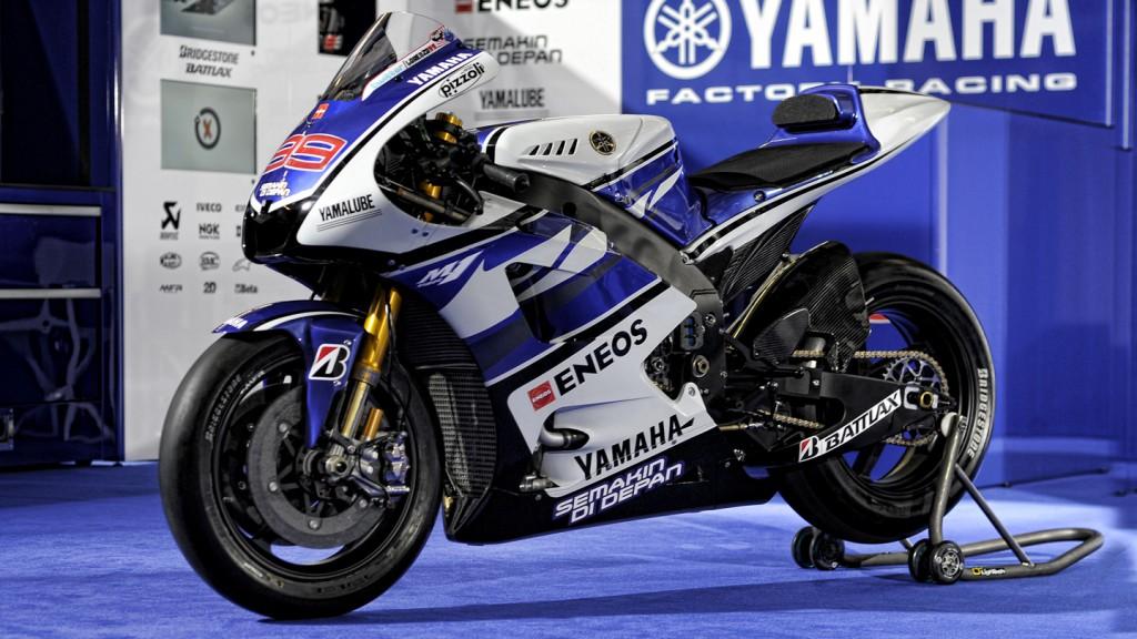 2012 Yamaha YZR-M1 Official Presentation