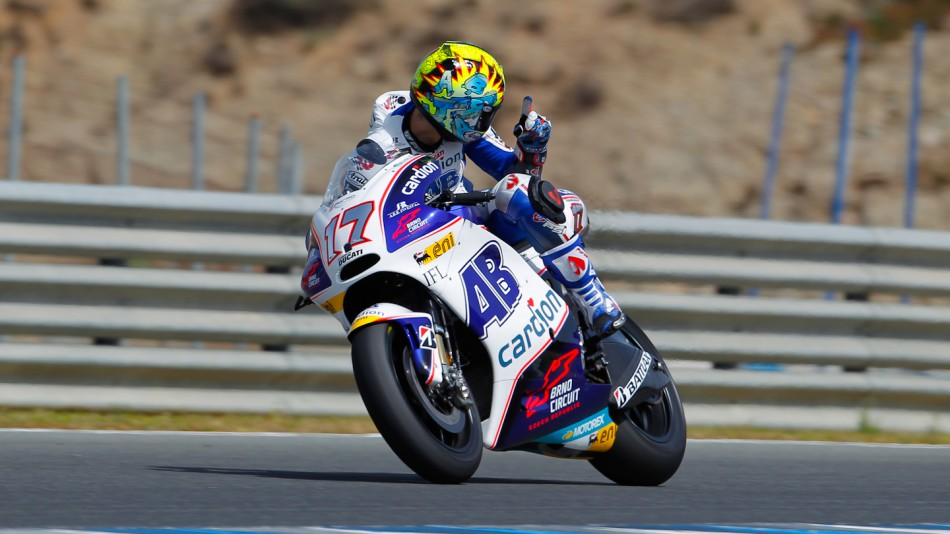 Karel Abraham, Cardion AB Motoracing, Jerez Test