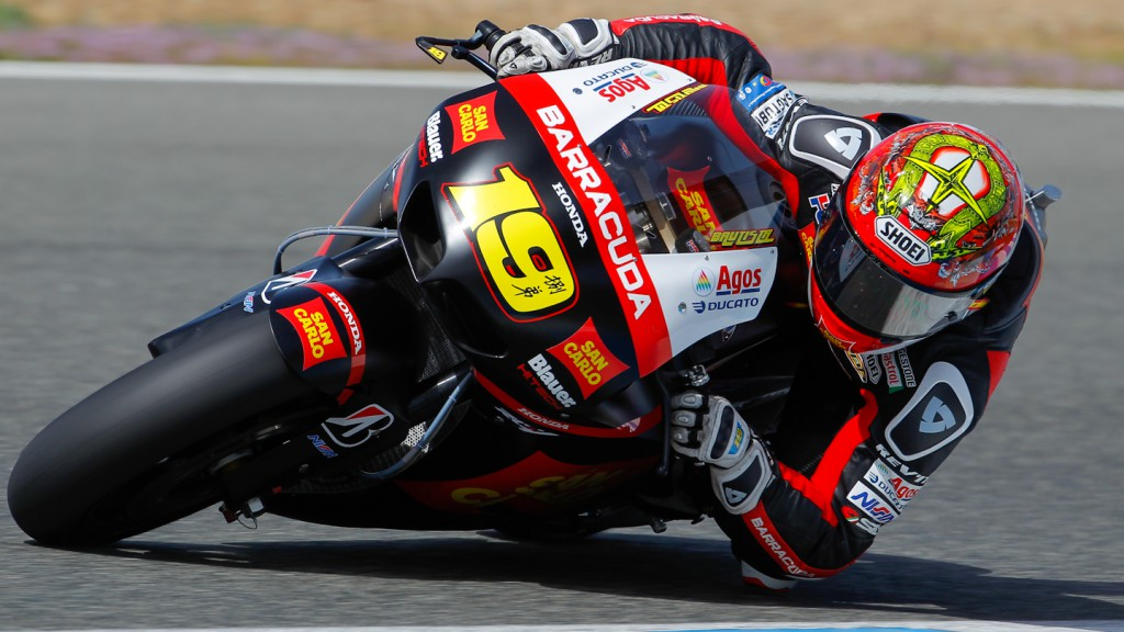 Alvaro Bautista, San Carlo Honda Gresini, Jerez Test