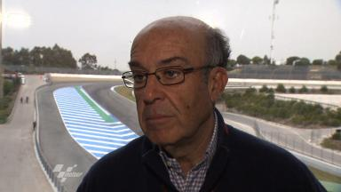 2012 - MotoGP - Jerez Test - Day 1 - Interview - Carmelo Ezpeleta