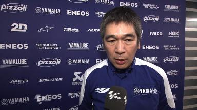 Yamaha Racing Factory Presentation – Interview - Kouichi Tsuji