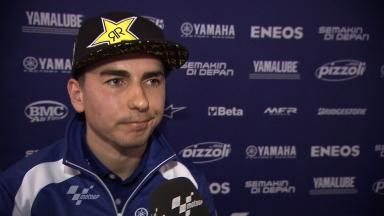 Yamaha Racing Factory Presentation – Interview – Jorge Lorenzo