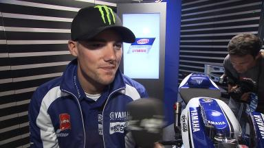 Yamaha Racing Factory Presentation – Interview – Ben Spies