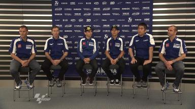 Yamaha Racing Factory Presentation- Press Conference