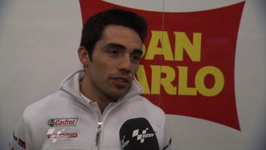2012 - MotoGP - Jerez Test - Day 1 - Interview - Michele Pirro