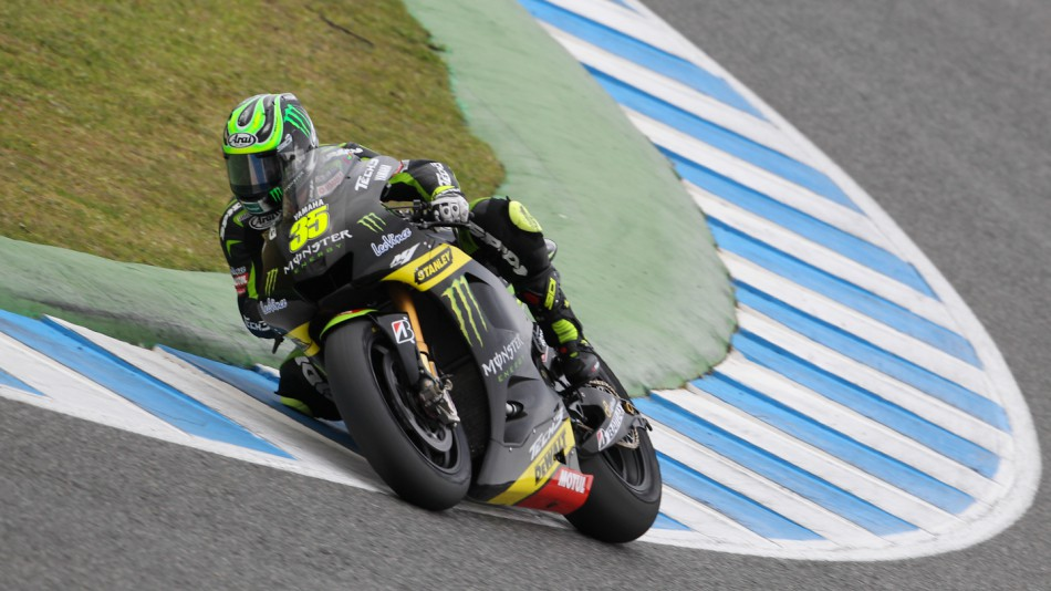 Cal Crutchlow, Monster Yamaha Tech 3, Jerez