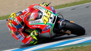 Valentino Rossi, Ducati Team, Jerez Test