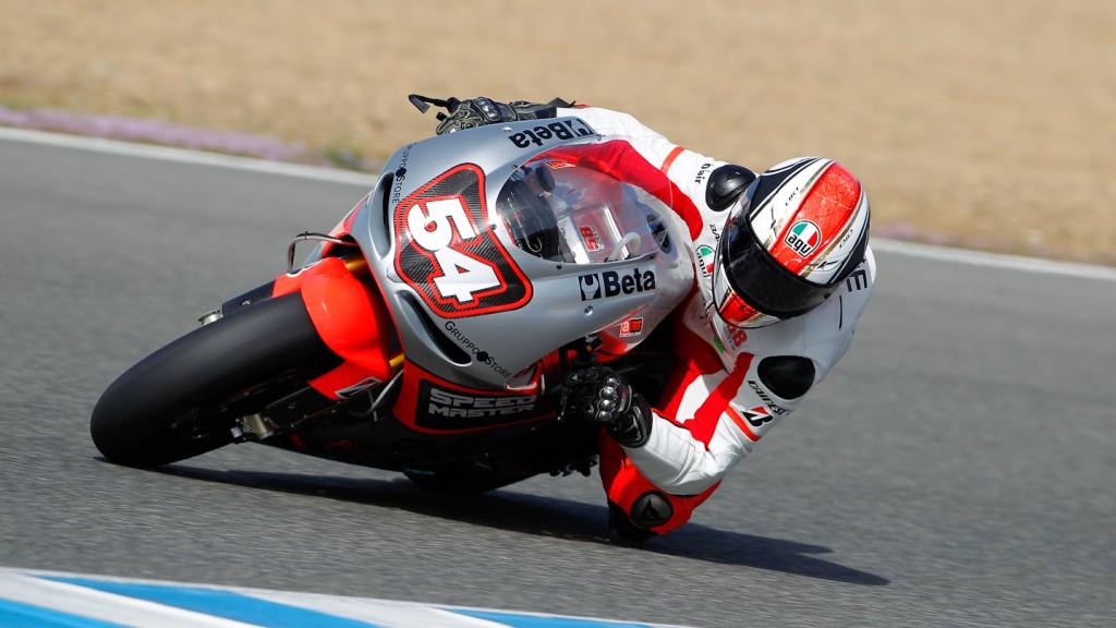 Mattia Pasini, Speed Master, Jerez Test