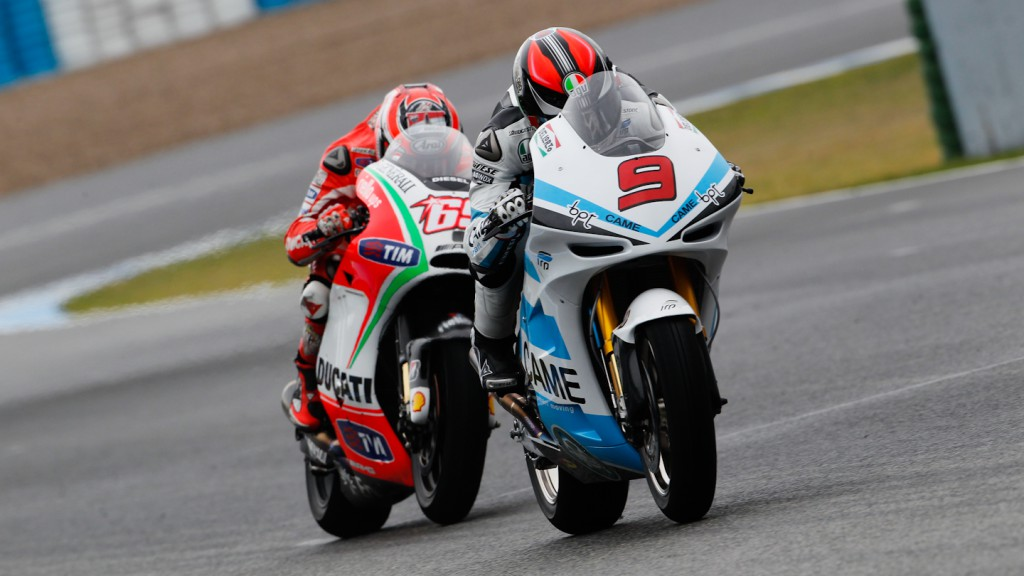 Petrucci, Hayden, Came IodaRacing, Ducati Team, Jerez Test