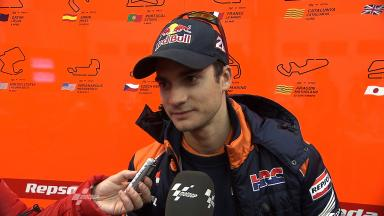 2012 - MotoGP - Jerez Test - Day 2 - Interview - Dani Pedrosa