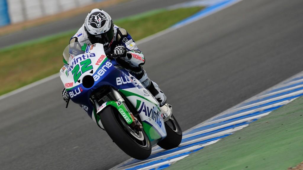 Ivan Silva, Avintia Racing, Jerez Test