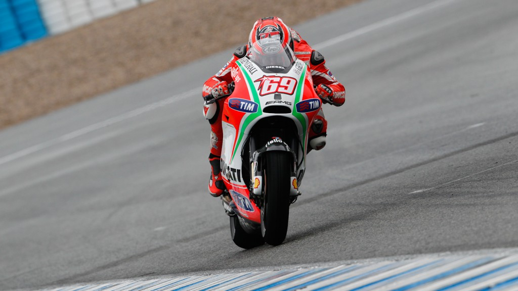 Nicky Hayden, Ducati Team, Jerez Test