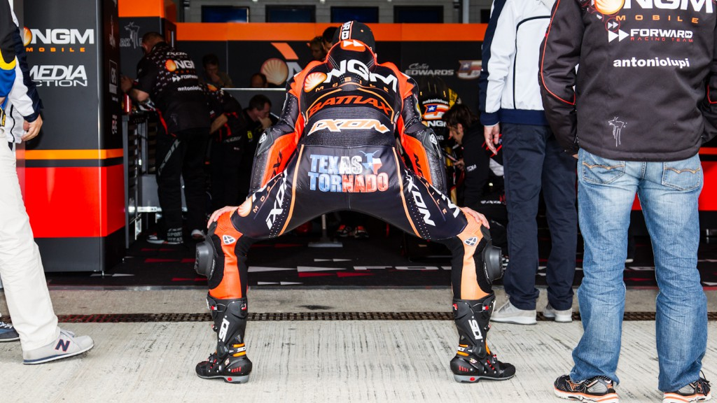 Colin Edwards, NGM Mobile Forward Racing, Jerez Test