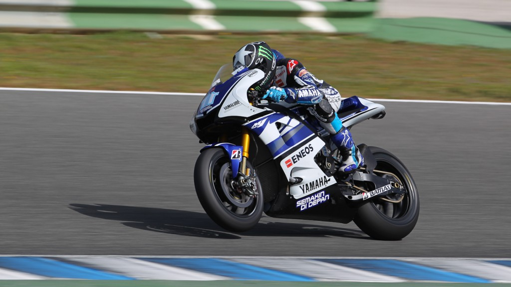 Ben Spies, Yamaha Factory Racing, Jerez Test