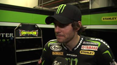2012 - MotoGP - Jerez Test - Day 3 - Interview - Cal Crutchlow