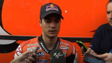 2012 - MotoGP - Jerez Test - Day 3 - Interview - Dani Pedrosa