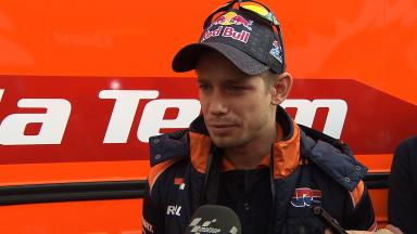 2012 - MotoGP - Jerez Test - Day 3 - Interview - Casey Stoner