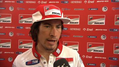 2012 - MotoGP - Jerez Test - Day 3 - Interview - Nicky Hayden