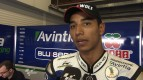 2012 - MotoGP - Jerez Test - Day 3 - Interview - Yonny Hernandez