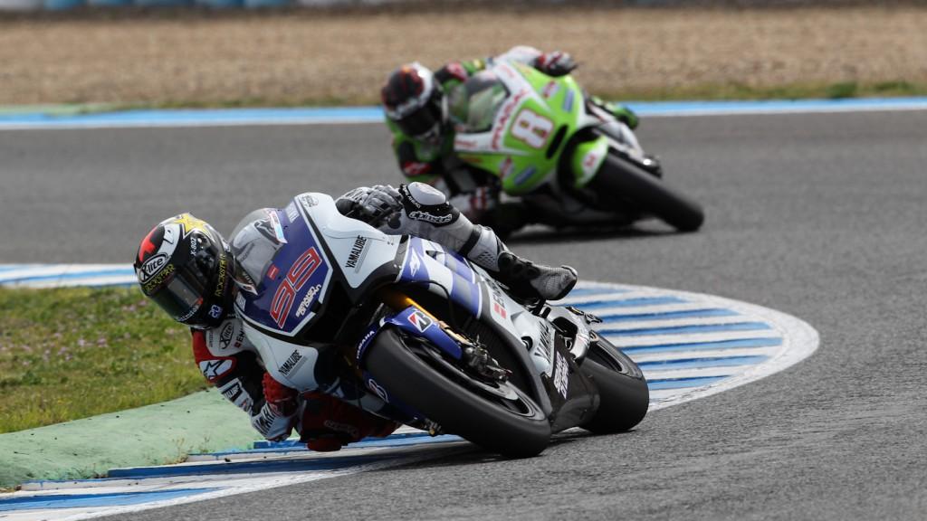 Jorge Lorenzo, Yamaha Factory Racing, Jerez Test
