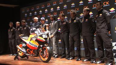Team CatalunyaCaixa Repsol presentation