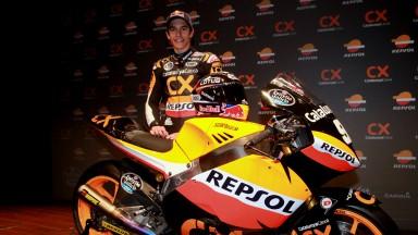 Marc Marquez, Team CatalunyaCaixa Repsol Team Presentation