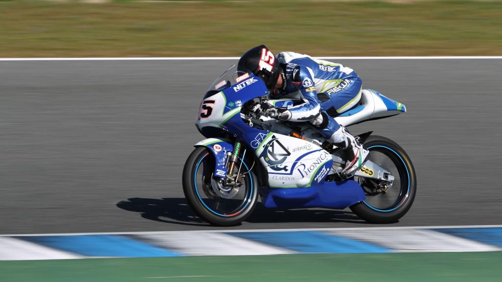 Simone Grotzkyj, Ambrogio Next Racing, Jerez Test