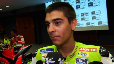 Moncayo delighted to be part of Aspar set-up
