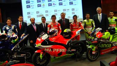 Aspar Team presents full 2012 line-up in Madrid