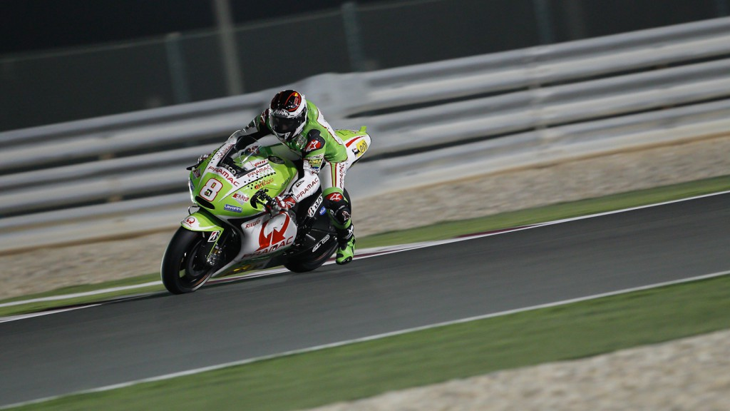 Hector Barbera, Pramac Racing Team, Qatar FP1