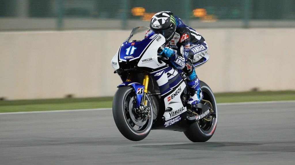 Ben Spies, Yamaha Factory Racing, Qatar FP1