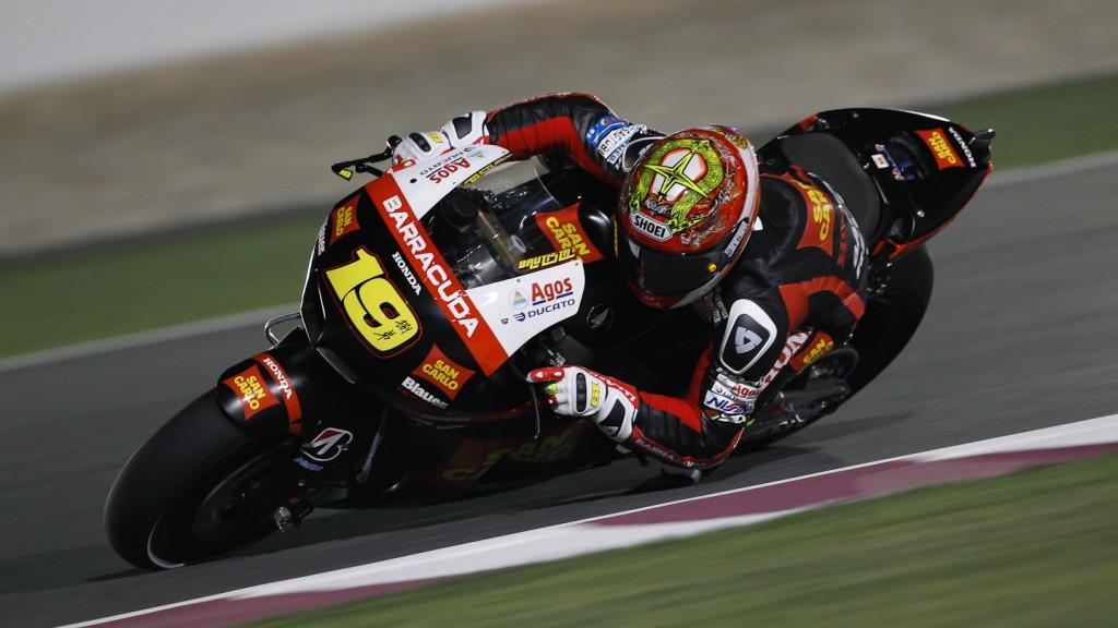 Alvaro Bautista, San Carlo Honda Gresini, Qatar FP1