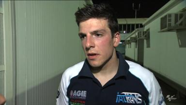Qatar 2012 - Moto2 - FP2 - Interview - Claudio Corti